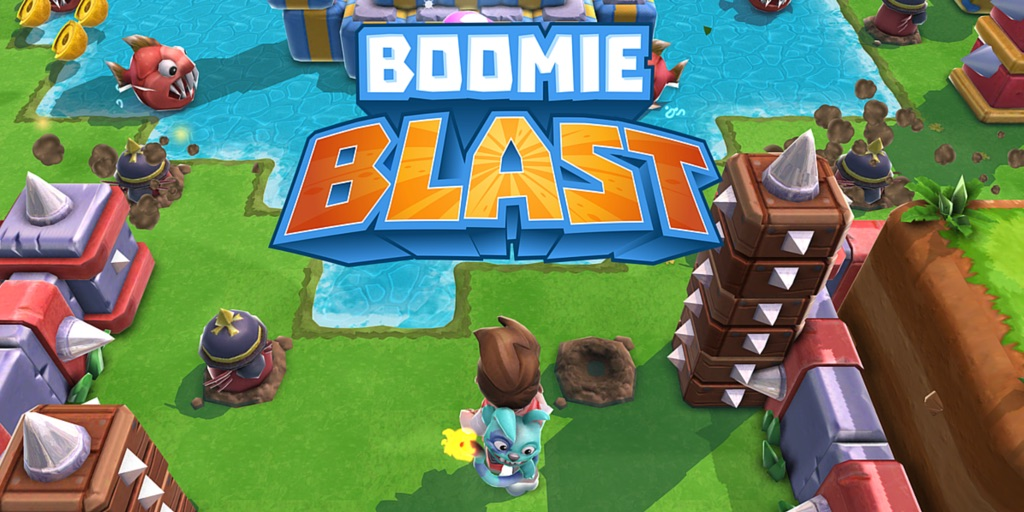 Boomie Blast released by TreasureHunt after extensive playtesting with PlaytestCloud