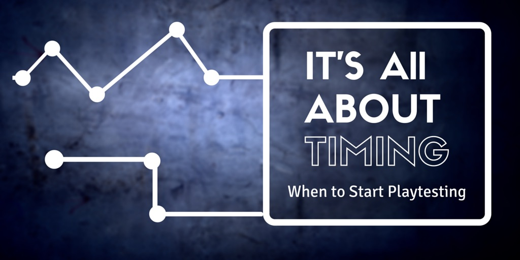 It's All About Timing: Learning when to start Playtesting