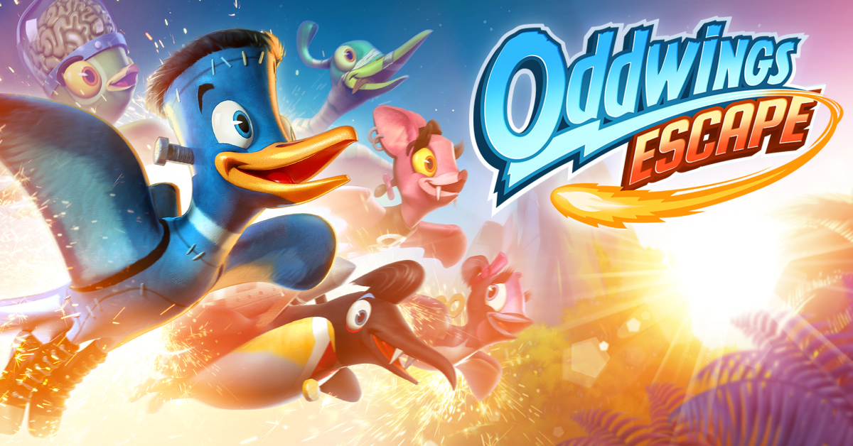 Meet Frankie and his buddies: Oddwings Escape crosses 1M downloads