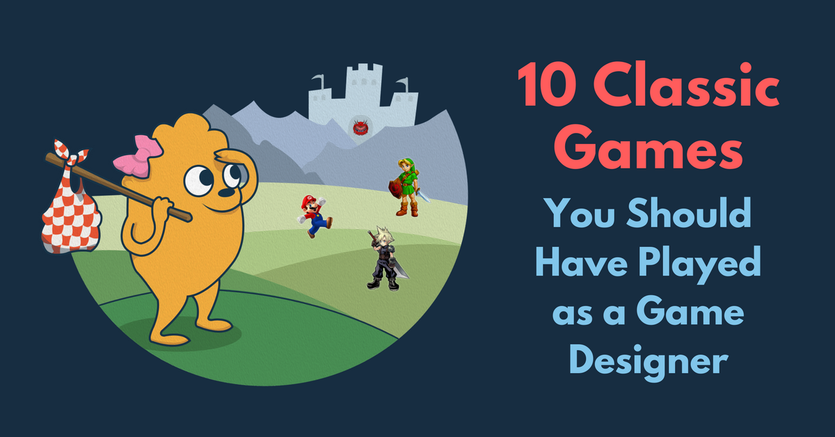 10 Classic Games You Should Have Played as a Game Designer