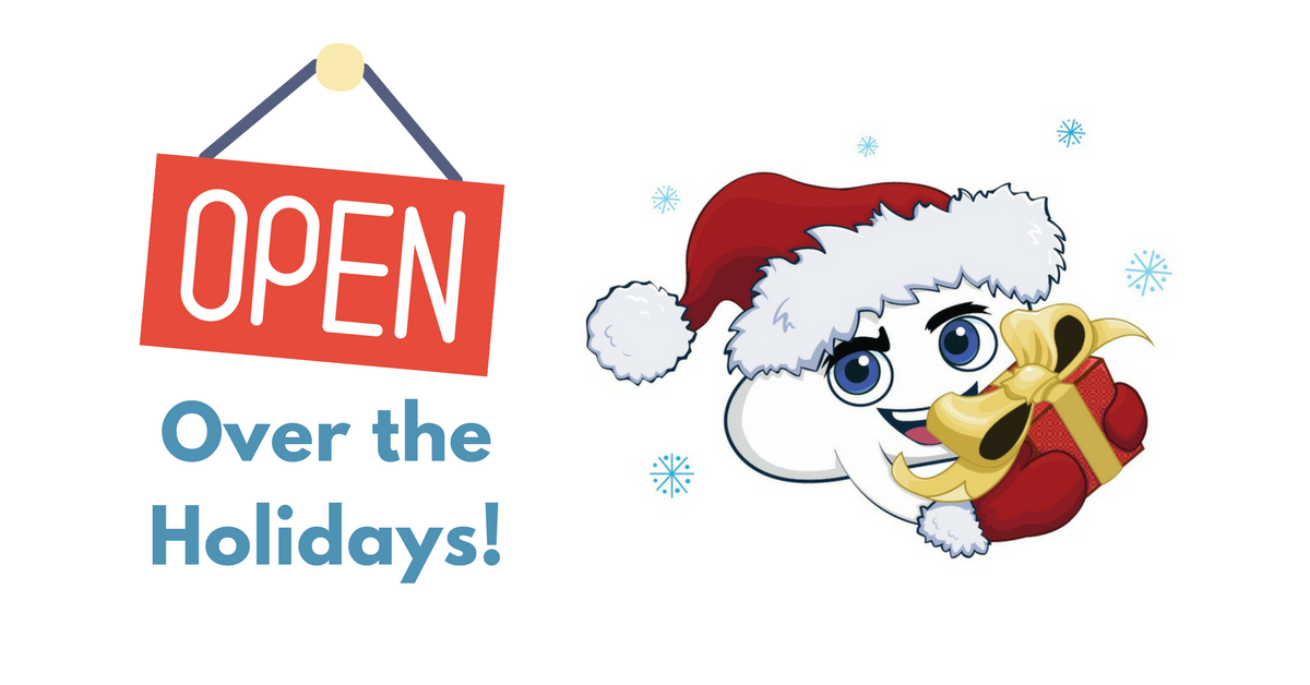 We're Open Over the Holidays!