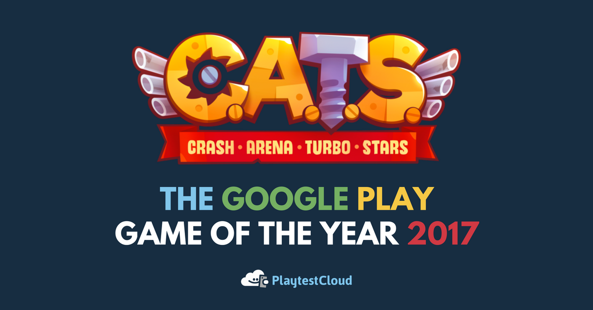 C.A.T.S.: Crash Arena Turbo Stars – Google Play Game of the Year 2017