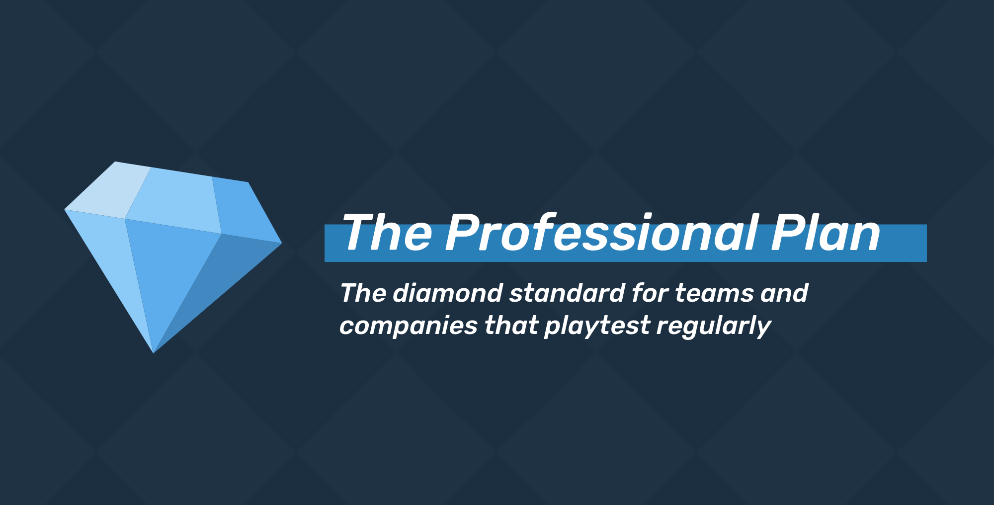 PlaytestCloud Subscriptions: The Professional Plan