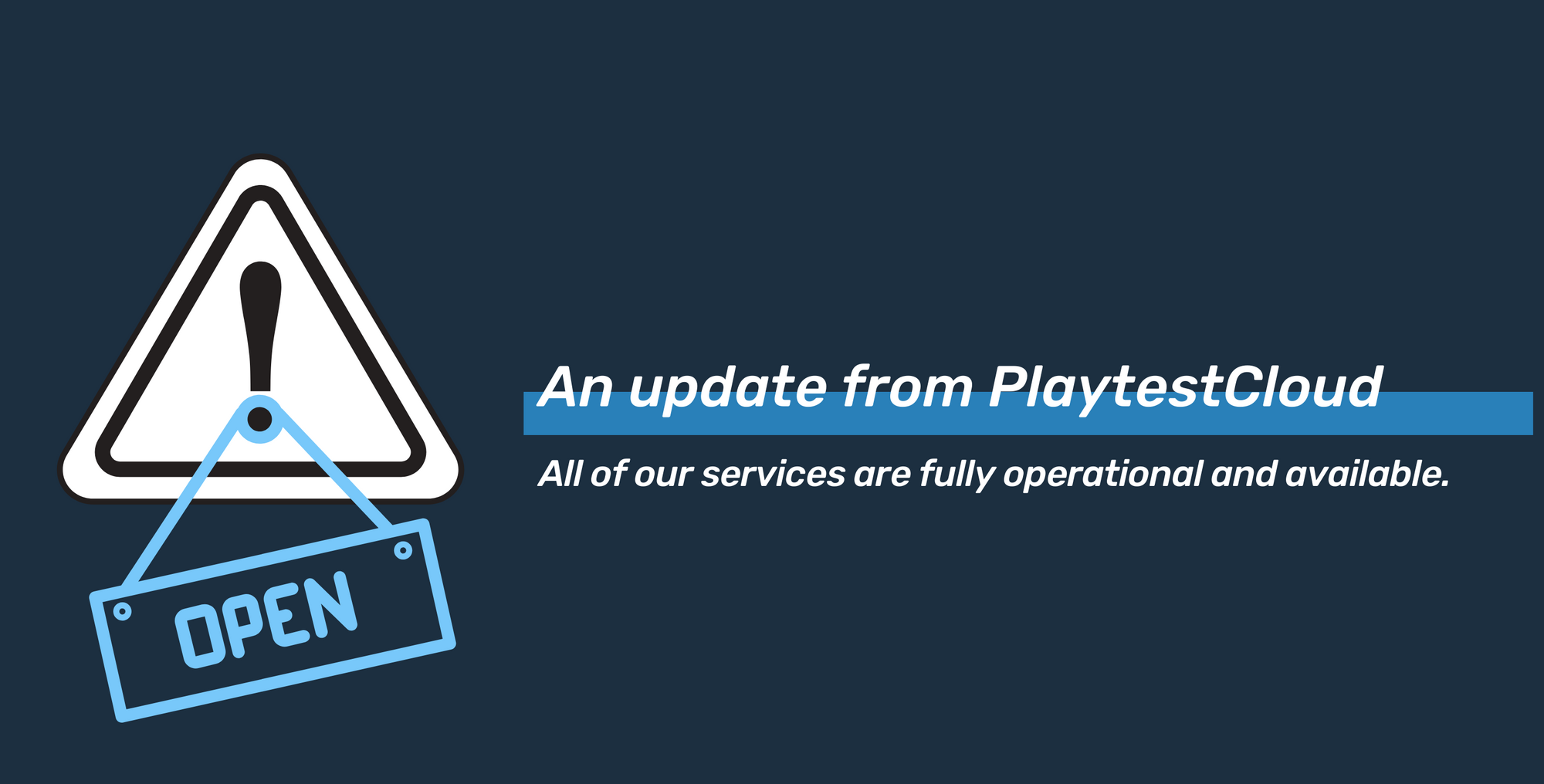 A statement from PlaytestCloud regarding COVID-19