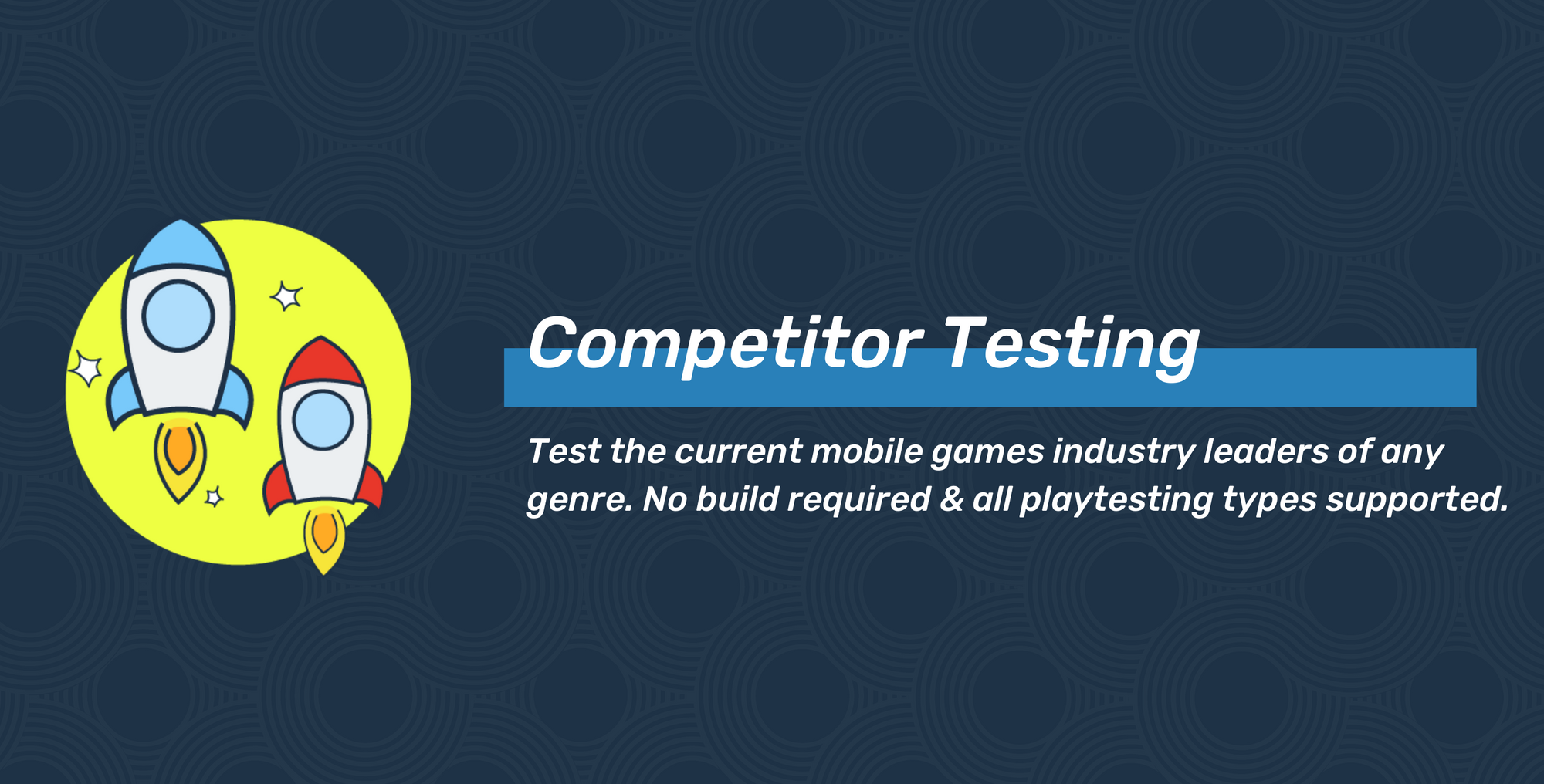 Competitor Testing: Endless possibilities