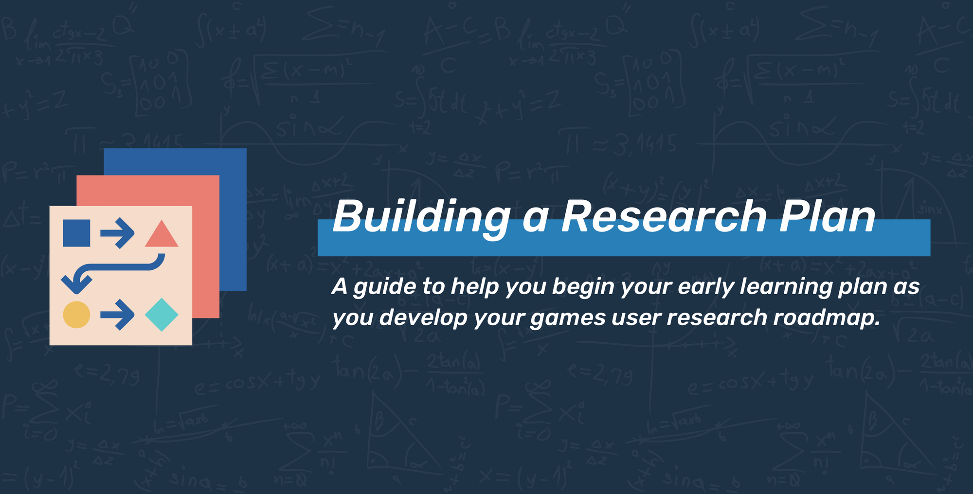 Learning Plans for Games User Research Roadmaps