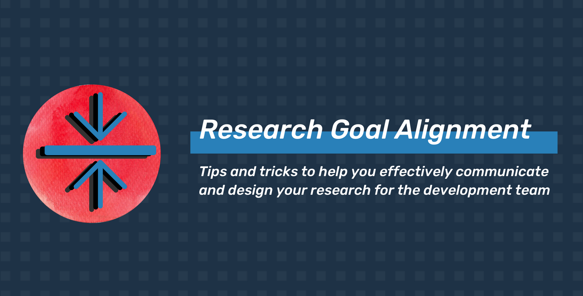 Steps to Research Goal Alignment